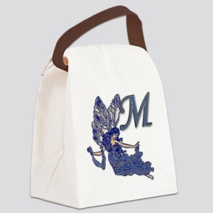 Blue Fairy Monogram M Canvas Lunch Bag