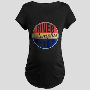 Memphis Vintage Label W Maternity Dark T-Shirt