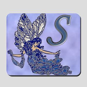 Blue Fairy Monogram BS Mousepad