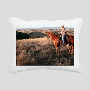 Sept? (2) Rectangular Canvas Pillow