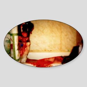 Bath Time Sticker (Oval)