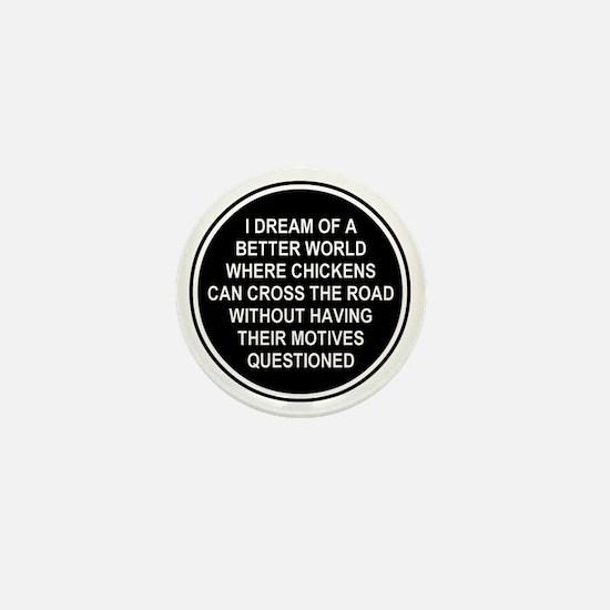 2000x2000chickens9 Mini Button