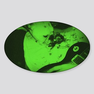 bou liver Sticker (Oval)