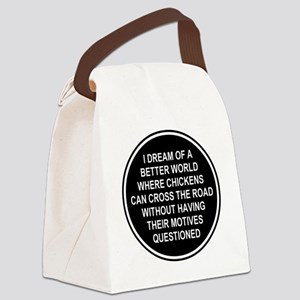2000x2000chickens9 Canvas Lunch Bag