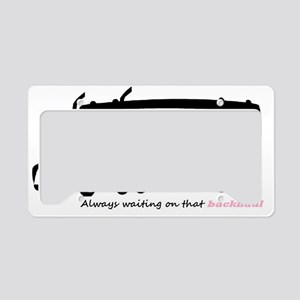 alwayswaiting License Plate Holder