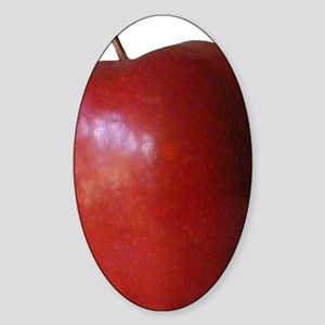 Apple Sticker (Oval)