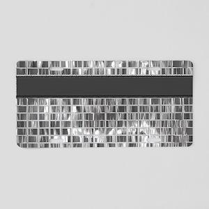 Mirrored Metal Magic3 Aluminum License Plate