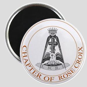 Rose Croix Magnet
