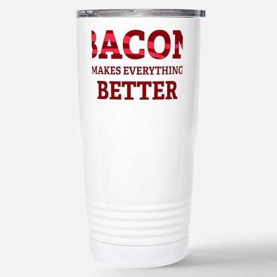 baconBetter5 Stainless Steel Travel Mug