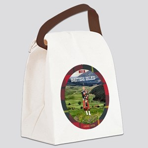 Bagpiper Farewell - Canvas Lunch Bag