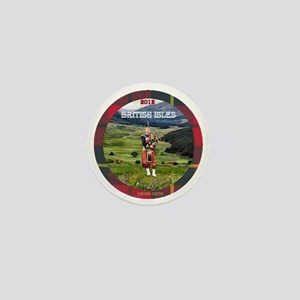 Bagpiper Farewell - Mini Button