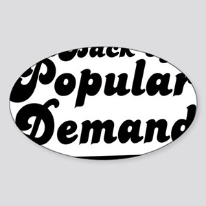 popdemand copy Sticker (Oval)