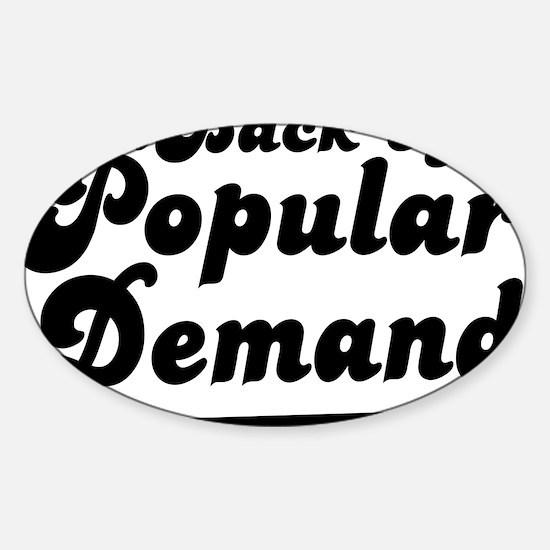 popdemand copy Sticker (Oval)