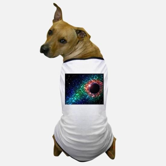 Space scenery globe planets nebula dus Dog T-Shirt