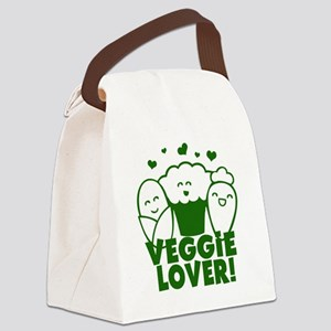 VEGGIELOVER copy Canvas Lunch Bag