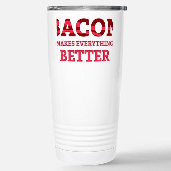 baconBetter6 Stainless Steel Travel Mug