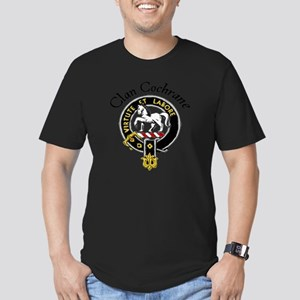 Colored Clan Crest Men's Fitted T-Shirt (dark)