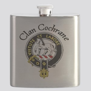 Colored Clan Crest Flask