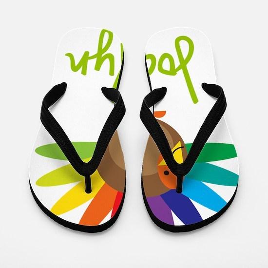 Jocelyn-the-turkey Flip Flops