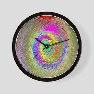 Magnetic Swirl Wall Clock