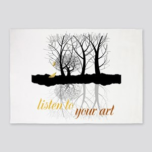 End of Autumn | Customize Listen to your Art 5'x7'