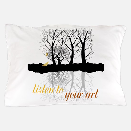 End of Autumn | Customize Listen to your Art Pillo