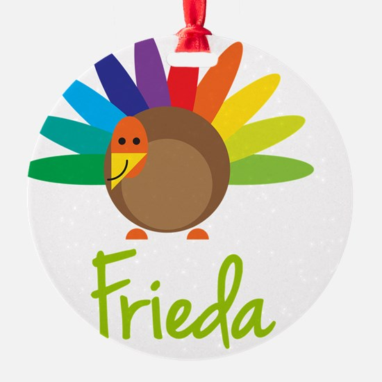 Frieda-the-turkey Ornament