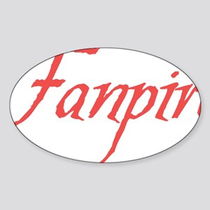 Fanpire 2 Sticker (Oval)