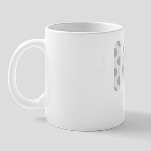 ICU Nurse QRS Grey DARKS Mug