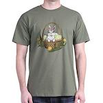 Pocket Easter Bunny Dark T-Shirt