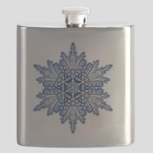 Snowflake Designs - 011 - transparent Flask