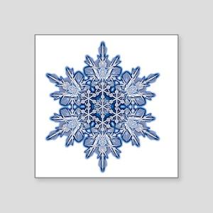 """Snowflake Designs - 011 - t Square Sticker 3"""" x 3"""""""