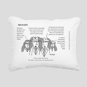 MEN_Mississ_Birthing Rectangular Canvas Pillow