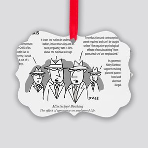 MEN_Mississ_Birthing Picture Ornament