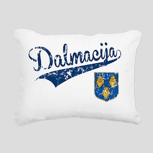 dalmacija-shirt Rectangular Canvas Pillow