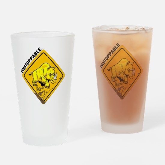 10x10_apparel-unstoppable Drinking Glass
