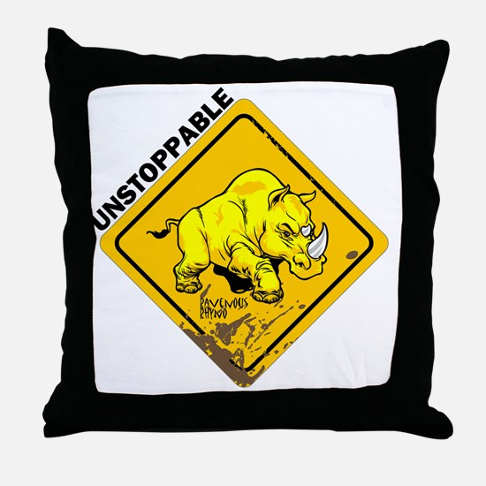 10x10_apparel-unstoppable Throw Pillow