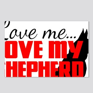 love my shep Postcards (Package of 8)