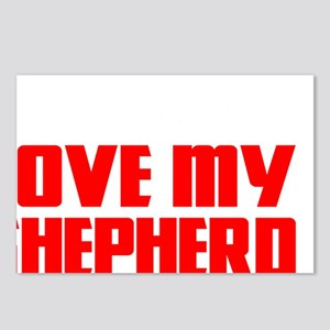 love my shep2 Postcards (Package of 8)