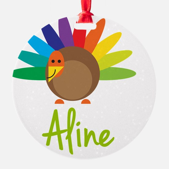 Aline-the-turkey Ornament
