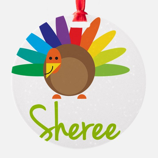 Sheree-the-turkey Ornament