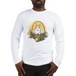 Pocket Easter Bunny Long Sleeve T-Shirt