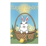 Easter Bunny Cute Pocket Postcards (Package of 8)