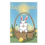 Pocket Easter Bunny Postcards (Package of 8)