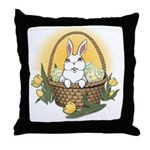 Easter Bunny Gifts Throw Pillow