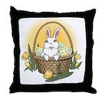 Pocket Easter Bunny Throw Pillow