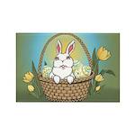 Pocket Easter Bunny Rectangle Magnet