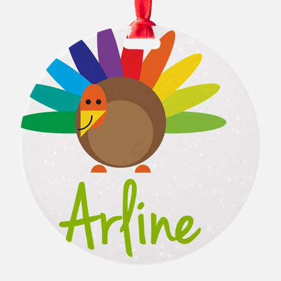 Arline-the-turkey Ornament