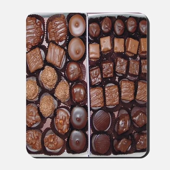 Chocolate Candy Flip Flops Mousepad