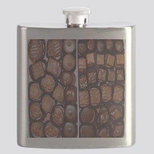 Chocolate Candy Flip Flops Flask